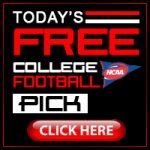 Free College Football Picks For Today 10/13/2018